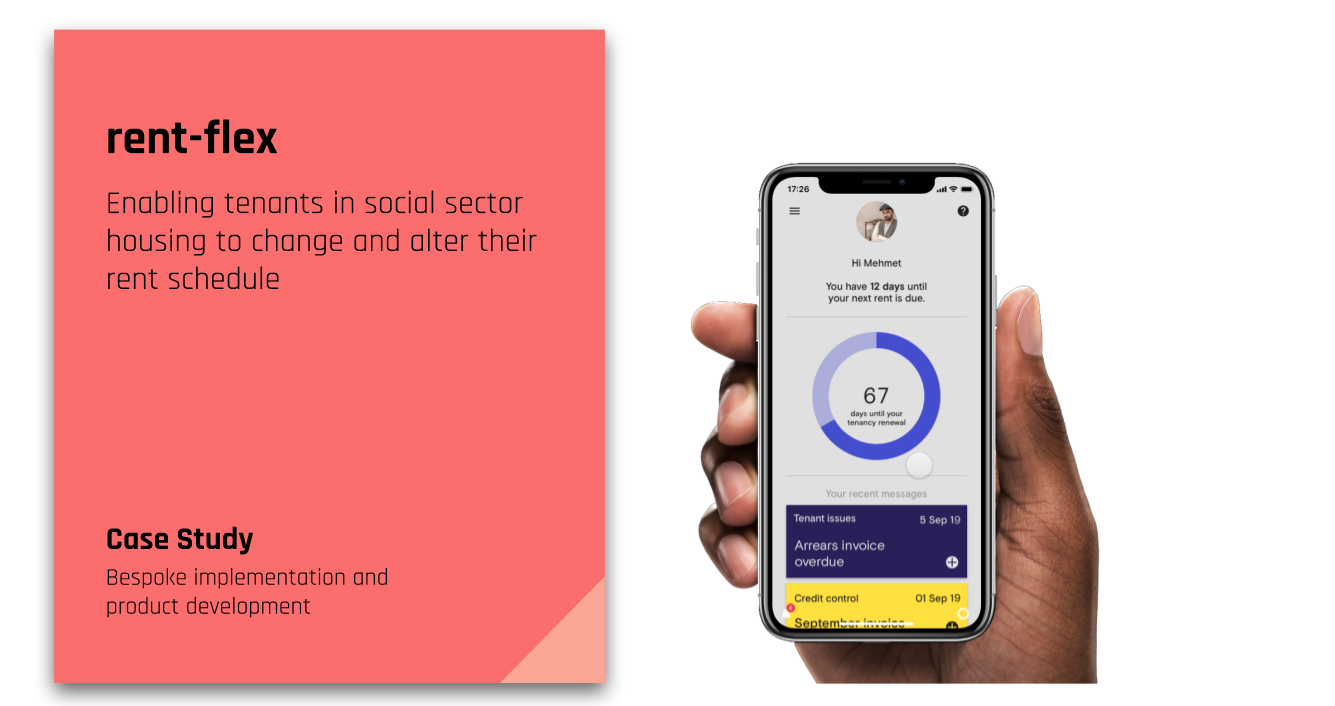 rent-flex product allowing tenants to change their rent schedule